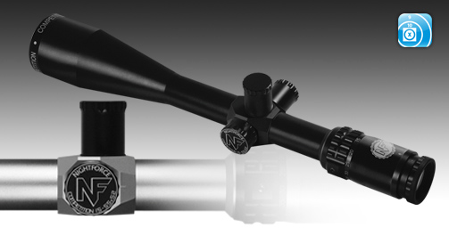 15-55x52 competition rifle scope from Nightforce. Benchrest